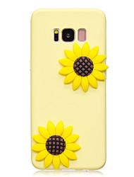 Недорогие -Кейс для Назначение SSamsung Galaxy S8 Plus S8 С узором Своими руками Кейс на заднюю панель Цветы Мягкий ТПУ для S8 Plus S8 S7 edge S7