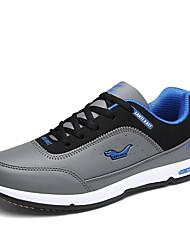 Hiking Shoes Men's Athletic Shoes Light Soles Tulle Spring Summer Athletic  Light Soles Flat Heel Gray Dark Blue Black Flat