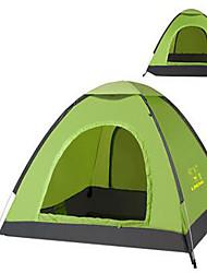 economico -3-4 persone Tenda Singolo Tenda da campeggio Tenda ripiegabile Tenere al caldo Resistente ai raggi UV per Campeggio e hiking Satin