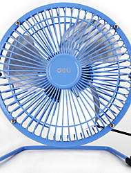 cheap -3682 6 Inch Mini Metal Material Rubber Feet Aluminum Fan Blade USB Fan with 120cm Cable