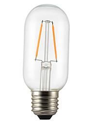 cheap -1PCS 2W E26/E27 LED Filament Bulbs T45 2 leds COB Dimmable Decorative Warm White 150-200lm 2300-2700K AC 220-240V