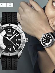 Недорогие -Муж. Спортивные часы Армейские часы Смарт Часы Кварцевый Цифровой Натуральная кожа Разноцветный 50 m Календарь Творчество Cool Аналоговый Дамы Кулоны На каждый день Мода Нарядные часы -  / Два года