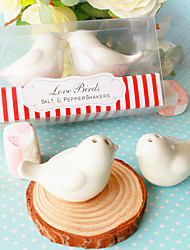 cheap -DIY Party Gifts Ceramic Salt & Pepper Shakers Wedding Favor Beter Gifts® 10 x 4 x 5 cm/box
