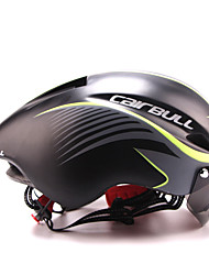 cheap -CAIRBULL Integrally Molded Cycling Helmet With Goggles Unisex Outdoor Bike Bicycle Safety Road Helmets 56-61CM