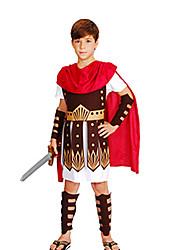 Недорогие -Римские костюмы Египетские костюмы фараон Косплей Косплэй Kостюмы Маскарад Костюм для вечеринки Детские Мальчики Хэллоуин Карнавал День
