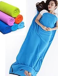 Недорогие -Fengtu Спальный мешок Liner Прямоугольный 24°C Теплый Изолированный Складной 180X80 Отдых и Туризм Пешеходный туризм Пляж Путешествия На