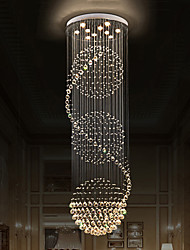 cheap -Modern Crystal Ceiling Chandeliers Indoor Pendant Light Hanging Lights Lamp Lighting Fixtures