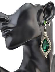 cheap -Women's Drop Earrings Rhinestone Personalized Luxury Geometric Circular Unique Design Tassel Classic Rhinestone Bohemian Basic Sexy