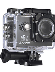 cheap -Andoer AN4000 WiFi 720P 1080P 4K 60fps 30fps 120fps 4x 2 CMOS 64 GB H.264 Multi-language 40 M