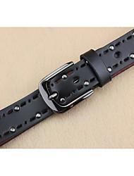 cheap -Retro rivets hollow out washing series cowboy joker lady belts