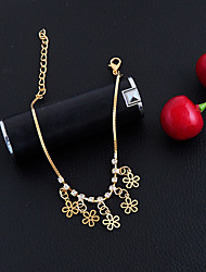 cheap -Women's Girls' Anklet/Bracelet Alloy Fashion Vintage Bohemian Punk Hip-Hop Handmade Turkish Gothic Flower Jewelry For Wedding Party