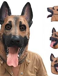 Новый прохладный волк собака полная маска Хэллоуин подарки экологичный характер латекс lifelike собака голову маску для косплей партии