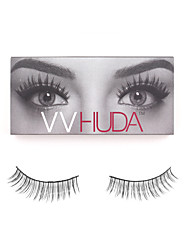 VVHUDA LASHES High Quality False Eyelashes Mink Natural Hair Black Handmade Eye Daily Makeup Long Light Extensions Cocojo