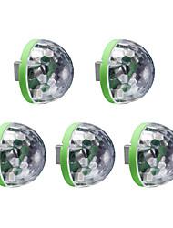 abordables -5pcs Lumières USB LED Night Light RVB Bayadère USB Commande Vocale