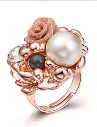 Ring Bohemian Gold Plated Round Jewelry For Party Birthday Daily 1pc