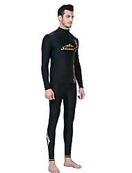 cheap -SBART Men's Wetsuits Wetsuit Skin Chinlon Elastane Diving Suit Long Sleeves Diving Suits Top-Surfing/SUP Watersports Diving & Snorkeling