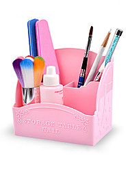 1Pcs 3 Color Nail Tool Box With Pen Storage Box Nail Art Kits Nail Art Manicure Tool Kit  Makeup Cosmetic Nail Art DIY
