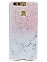 preiswerte -Für Hüllen Cover Muster Rückseitenabdeckung Hülle Marmor Weich TPU für HuaweiHuawei P9 Huawei P9 Lite Huawei P8 Huawei P8 Lite Huawei Y5