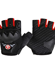 cheap -WOSAWE Sports Gloves Bike Gloves / Cycling Gloves Wearable Protective Skidproof Fingerless Gloves Road Cycling Cycling / Bike Mountain