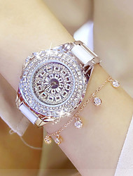 cheap -Women's Pave Watch Simulated Diamond Watch Unique Creative Watch Wrist watch Bracelet Watch Fashion Watch Casual Watch Chinese Quartz