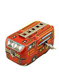 Недорогие -Игрушечные машинки Игрушка с заводом Пожарная машина Ретро Автомобиль Пожарные машины Сварочное железо Железо Винтаж Ретро Куски Детские Универсальные Игрушки Подарок