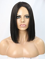 Brazilian Virgin Hair U Part Lace Closure Wig with Deep Parting