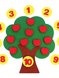 Недорогие -Стикеры Математические игрушки Обучающая игрушка Игрушки Экологичные Классика Куски Детские Подарок