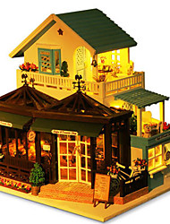 cheap -Model Building Kit Toys DIY Famous buildings House Architecture Natural Wood Classic Pieces Unisex Birthday Gift