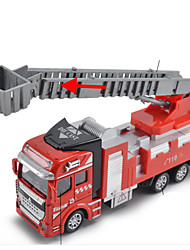 cheap -Toy Cars Toys Motorcycle Construction Vehicle Fire Engine Vehicle Sprinkler Truck Toys Rectangular Fire Engines Metal Alloy Iron Pieces