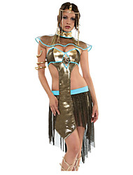 Queen Egyptian Costumes Cleopatra Skirt Cosplay Costumes Party Costume Female Halloween Carnival Festival/Holiday Halloween Costumes