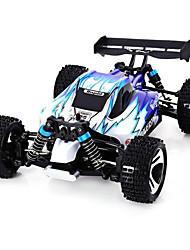 abordables -Voitures RC  WL Toys A959 2.4G SUV 4 roues motrices Haut débit Voiture de dérive Voiture hors route Buggy (Hors des routes) 1:18 Moteur à
