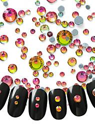 300 Decoración de uñas Las perlas de diamantes de imitación maquillaje cosmético Dise?o de manicura