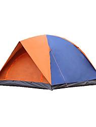 3-4 Personen Zelt Doppel Camping Zelt Falt-Zelt Wasserdicht warm halten Regendicht Klappbar für Leinwand CM