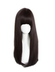 Sweet Lolita Brown Middle Long Lolita Wig