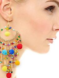 Women's Drop Earrings Basic Unique Design Tassel Geometric Friendship Bohemian British Punk Chrismas Classic Adorable Elegant