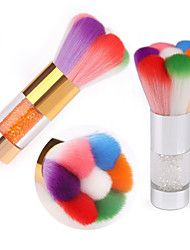 Pinpai Mix Colors Rhinestone Nail Art Dust Brush Hot Sale Nail Brush