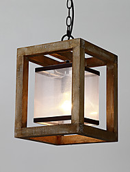cheap -Rustic/Lodge Traditional/Classic Retro Mini Style Pendant Light Downlight For Living Room Hallway Garage 110-120V 220-240V Bulb Not