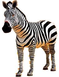 Недорогие -3D пазлы Бумажная модель Наборы для моделирования Лошадь Зебра Животные Своими руками моделирование Плотная бумага Классика Детские Универсальные Игрушки Подарок