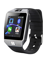 abordables -Hombre Reloj de Moda Reloj de Pulsera Reloj elegante Digital Caucho Banda Negro
