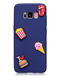 cheap -Case For Samsung Galaxy S8 S8 Plus Case Cover Ice Cream Pattern Fruit Color TPU Material DIY Phone Case S7 S7 Edge