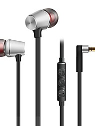 cheap -kdk307 In Ear Wired Headphones Dynamic Plastic Mobile Phone Earphone Stereo with Microphone with Volume Control Headset