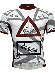 cheap -ILPALADINO Men's Short Sleeves Cycling Jersey Bike Jersey, Quick Dry
