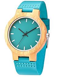 economico -Per uomo Orologio da polso Creativo unico orologio Orologio casual Orologio Legno Orologio sportivo Orologio alla moda Quarzo di legno