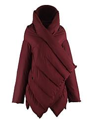 ANGELL Women 90% Duck Down Parka Waterproof Winter Snow Minus 30 Degrees Down Outerwear Jacket Cloak Coat Women Plus Size