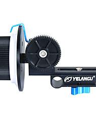 La lega della lega di yelangu f1alluminio segue la messa a fuoco per tutti i tipi di dslr e la videocamera