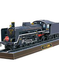 abordables -Coches de juguete Puzzles 3D Maqueta de Papel Tren Juguetes Cuadrado Cola Manualidades Papel duro No Especificado Piezas