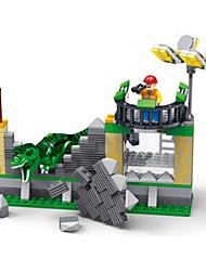 Недорогие -Конструкторы Тиранозавр / Динозавр Своими руками Классика Мальчики Подарок