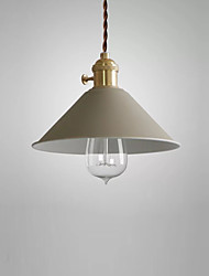 cheap -A Mini Sized of Factory Inspired Industrial Style Features Pendant Ceiling Light Retro Vintage Metal for Antique and Historic Pendant Hanging Lamp