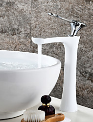 Centerset Ceramic Valve One Hole Oil-rubbed Bronze , Bathroom Sink Faucet
