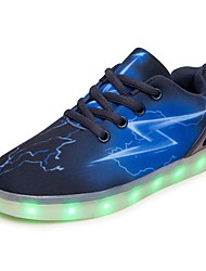 cheap -Boys' Sneakers Light Up Shoes Comfort Light Soles Breathable Mesh Spring Fall Casual Outdoor Party & Evening Lace-up Flat HeelLuminous